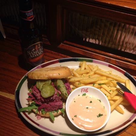 Frankie Benny S New York Italian Restaurant Bar Coventry Salt Beef Sandwich