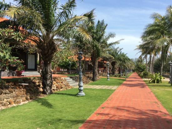 Saigon Hococ Seaside Beach Resort & Hotels: cảnh quan