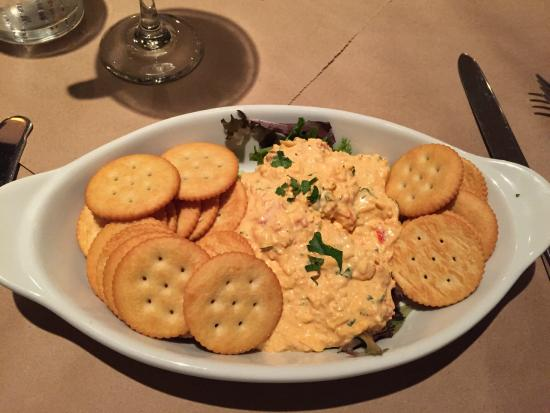 Pimento Cheese and Ritz Crackers Appetizer - Picture of Commerce ...
