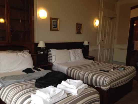 Edinburgh House Hotel: Room number 3