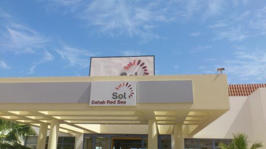 Ecotel Dahab Bay View Resort: hotel sign