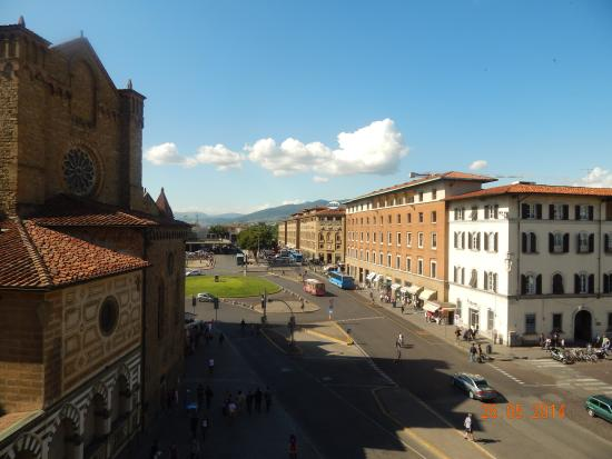 Fiorentino : View towards SMN station