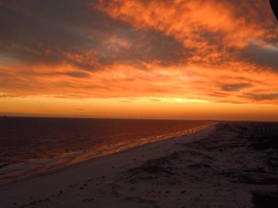 The Beach Club : sunset view