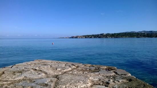 B&B Cala Peticchia: Panorama dal mare