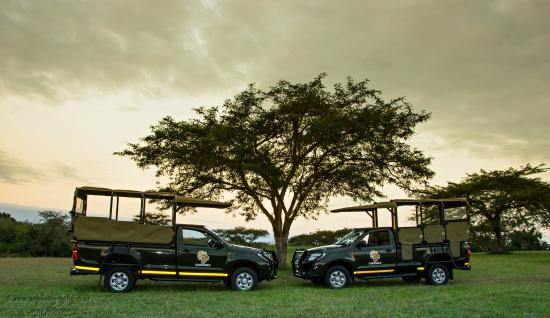 Kiepersol, South Africa: Modern fleet of safari vehicles