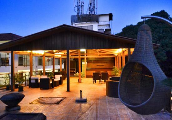 Nitya Resort: SKY LOUNGE