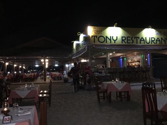 Tony Restaurant: What a romantic dinner ...