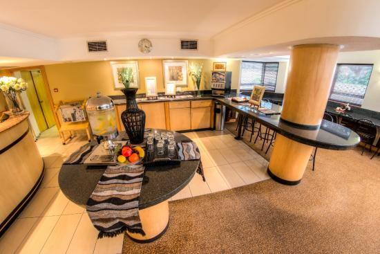 Road Lodge Durban: Hotel commercial area