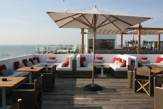 roof top bar piscine picture of jw marriott venice resort spa venice tripadvisor. Black Bedroom Furniture Sets. Home Design Ideas