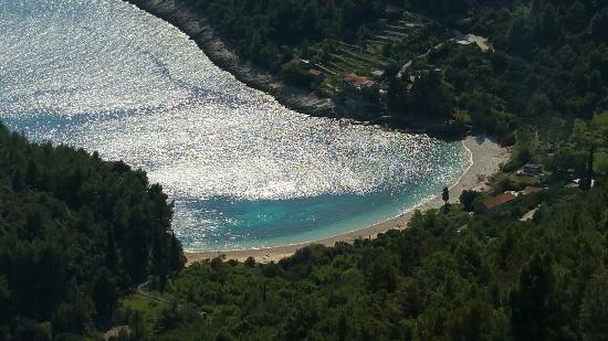 Ciudad de Curzola (Korčula), Croacia: Pupnatska Luca Beach