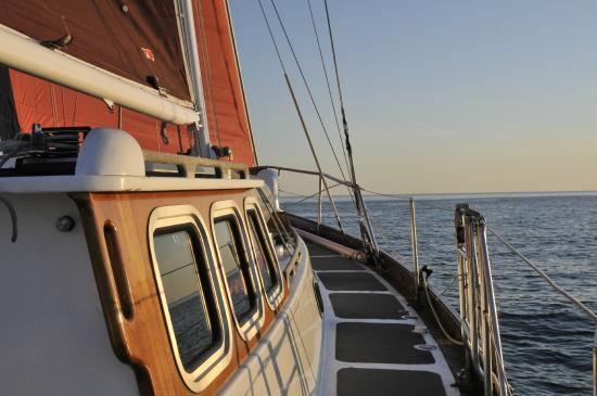 North Haven, ME: Summer days aboard S/V Tammy Norie