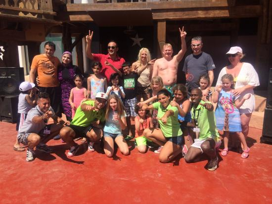Hilton Sharm Dreams Resort: jimmy and the animation team