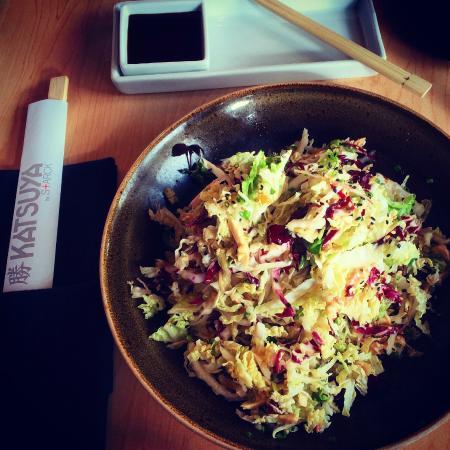 Katsuya by Starck: Chicken salad  @urbanappetite
