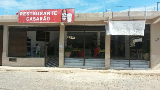 Recreio, MG: Restaurante Casarao
