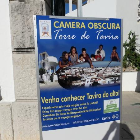 Camera Obscura: Sign to look out for