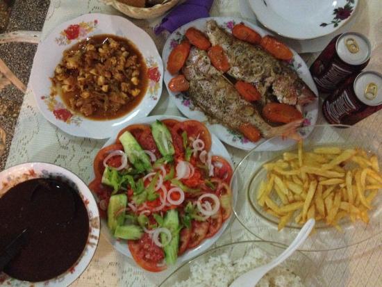 Casa Gloria and Lazaro: Home made Dinner!