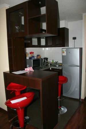 Torre Tagle, Departamentos Amoblados: Cocina