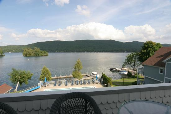 The Quarters at Lake George : Gorgeous views of Lake George