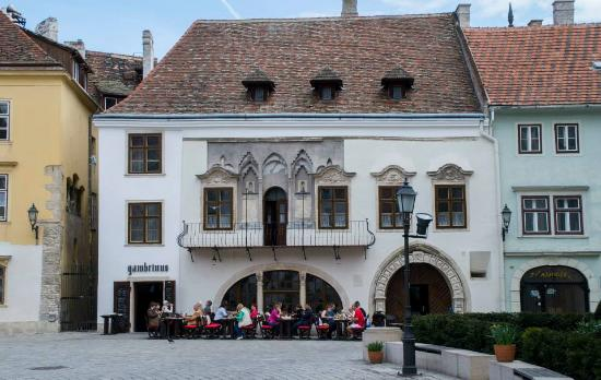 Photo of Modern European Restaurant Gambrinus Ház at Fo Ter 3, Sopron 9400, Hungary