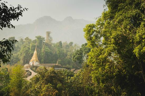Wat Tham Pha Plong: Nearing the end of the walk