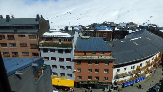 Magic Pas Hotel : vista desde la habitación
