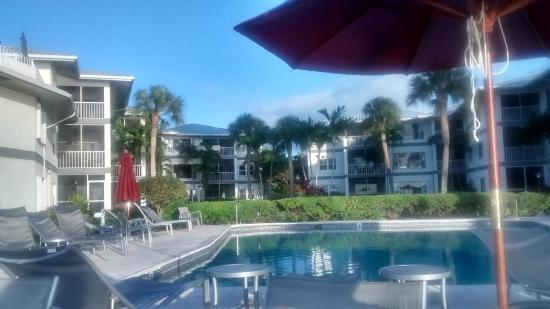 Tamarind Bay Condos: From the pool unit 11 is on 1st floor to the left