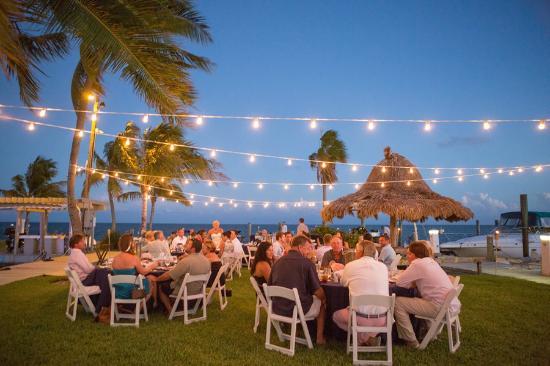 Postcard Inn Beach Resort Marina Wedding Reception At Bimini Row