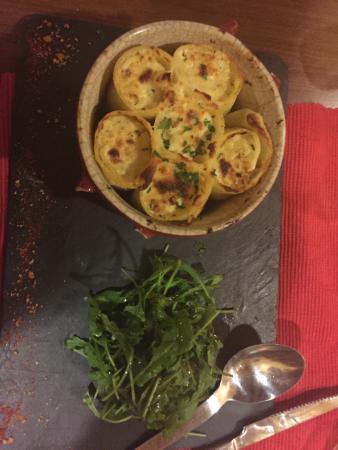 La Petite Italie : Spinach cannelloni