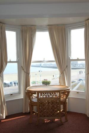 The Bourneville: View from Sea View Room