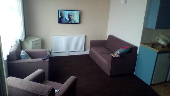 South Bay Holiday Park: living area