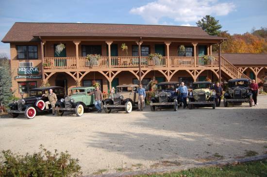 Hemlock Inn: Model A Club from Charleston