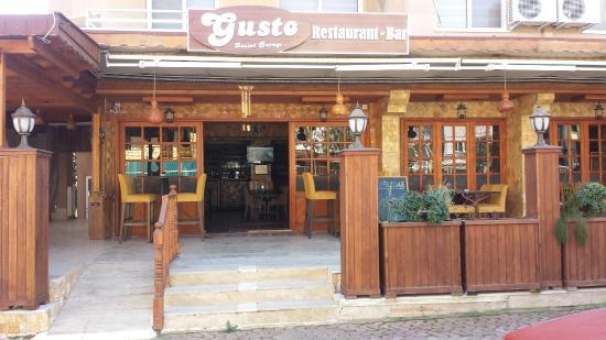 Gusto Restaurant: Gusto experience.