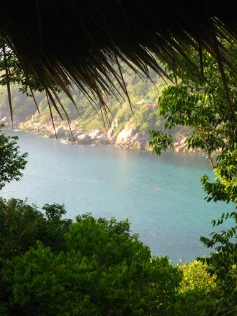 Baan Talay Koh Tao: View from the deck of our room