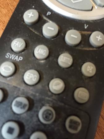 Blair Victoria Hotel: filthy TV remote
