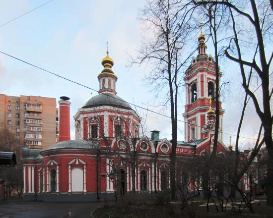Church of St. Pimen the Great in Novye Vorotniki