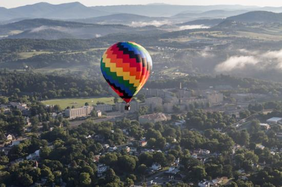Balloon Over Lexington