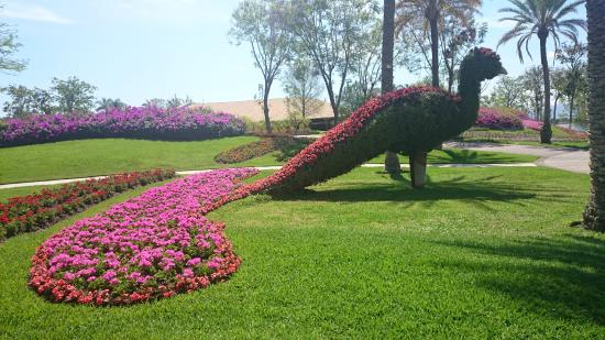 Jard n de los sentidos escultara picture of jardines de for Jardines bellos fotos