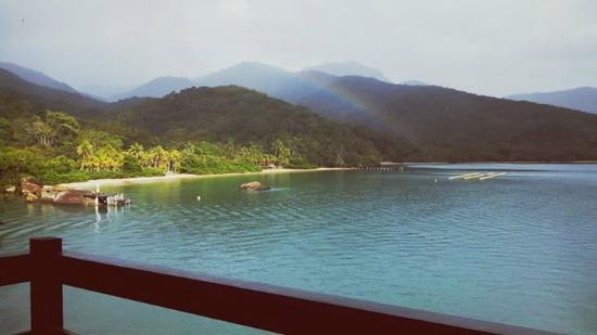 Pousada Praia da Camiranga: Vista sensacional