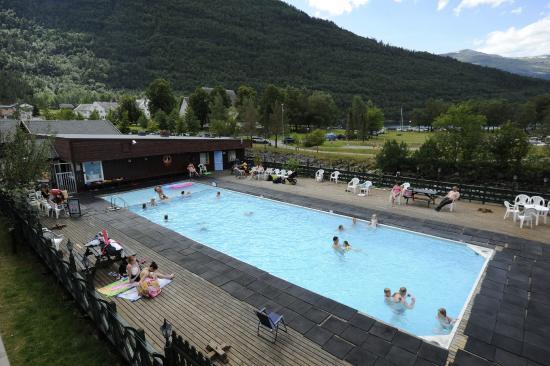 Hardangertun Hytter og Familiepark: Basseng