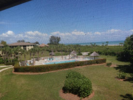Sandpiper Beach: View from the unit