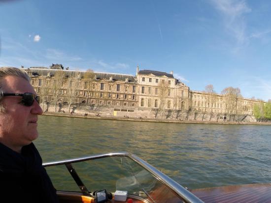 River Limousine : les monuments vus de la Seine