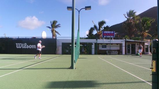 American Tennis Academy: on the court with Oliver