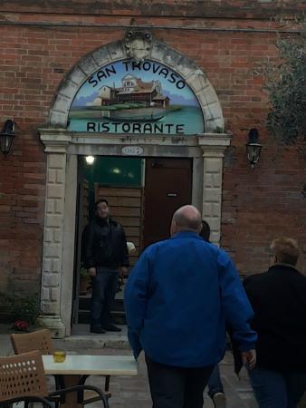 Ristorante San Trovaso : Ingresso ristorante