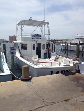 Lady s picture of captain mike charters panama city for Charter fishing panama city beach