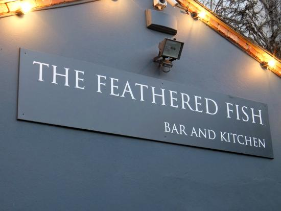 Function room picture of the feathered fish bar and for 99 5 the fish