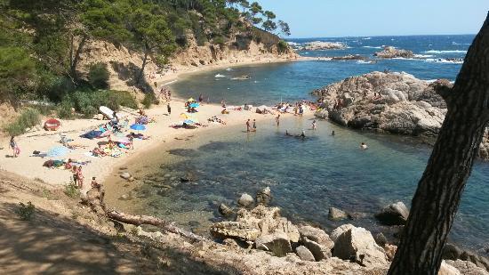Girona, Spain: Cala estreta