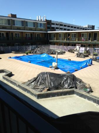 The Inn at Jack London Square: My courtyard view