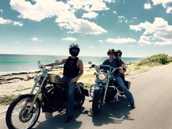 Paradise Choppers Cozumel Harley Tours