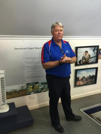 Royal Flying Doctor Service, The Bruce Langford Visitors Centre: Our informative tour guide
