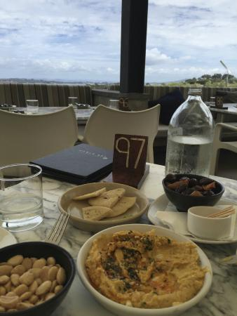 Isla Waiheke, Nueva Zelanda: lunch at the winery